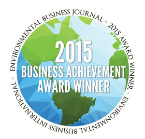 BrightFields Awarded 2015 Business Achievement Award Winner from Environmental Business Journal