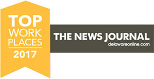 BrightFields awarded Top Work Places 2017 by The News Journal